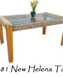 New Helena Wicker Table