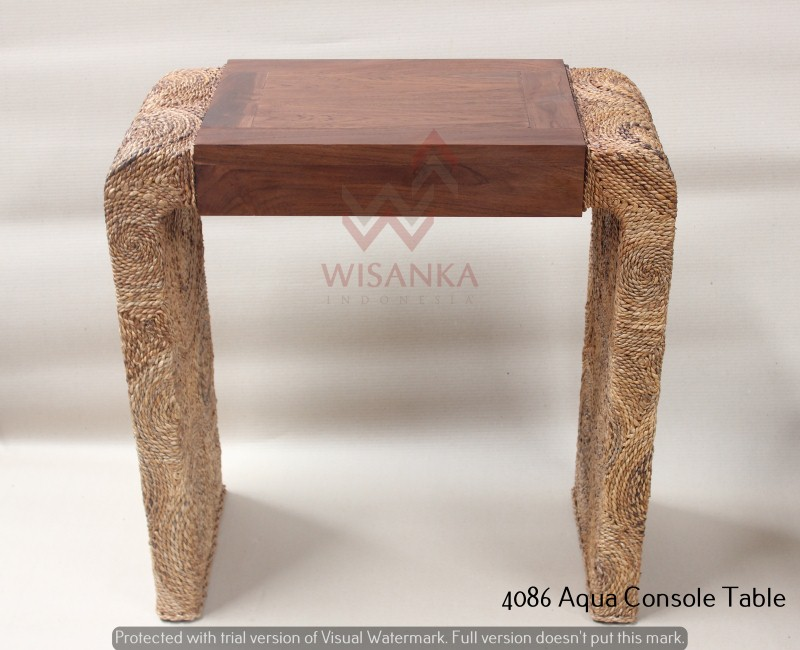 4086 Aqua Console Table
