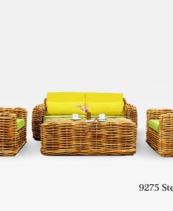 Stenli Rattan Living Set
