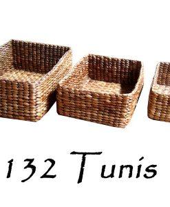 Tunis Rattan Basket