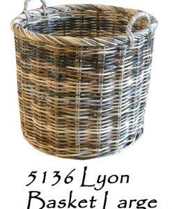 Lyon Rattan Basket Large
