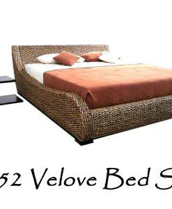 Velove Wicker Bed Set