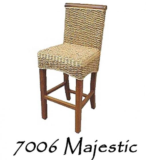Majestic Wicker Barstool