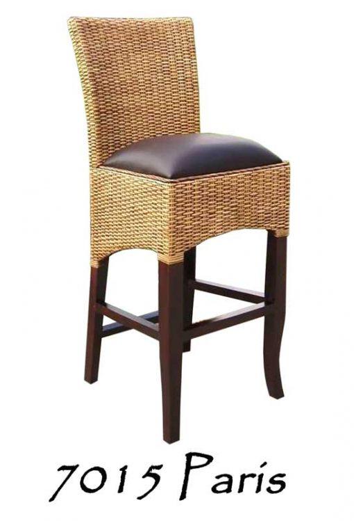 Paris Rattan Bar stool