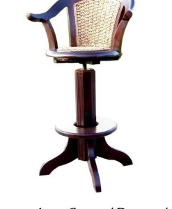 Lori Swievel Wicker Bar Stool
