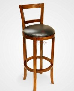 Natali Wooden Bar Stool