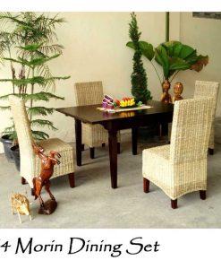 Morin Rattan Dining Set