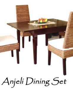 Anjeli Rattan Dining Set