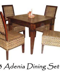 Adenia Rattan Dining Set