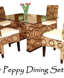 Peppy Wicker Dining Set