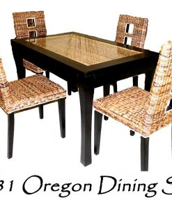 Oregon Wicker Dining Set