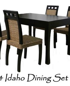 Idaho Wicker Dining Set