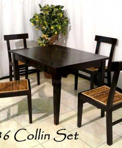 Collin Wicker Dining Set