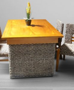 New Osaka Wicker Dining Set