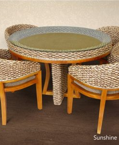 Sunshine Wicker Dining Set