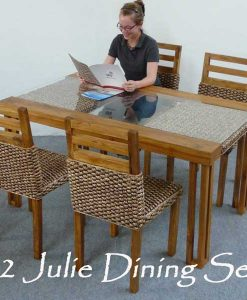 Julie Wicker Dining Set