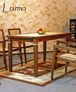 Lumo Rattan Dining Set