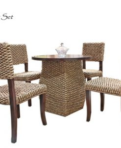 Mayo Wicker Dining Set