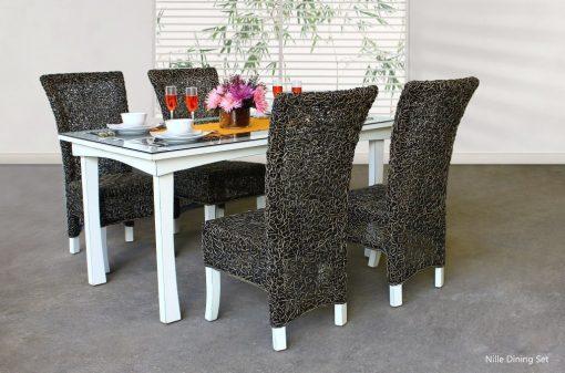 Nile Rattan Dining Set