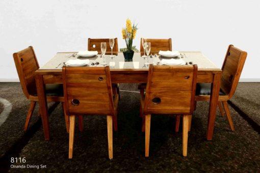 Onada Rattan Dining Set