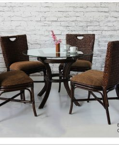Georgia Wicker Dining Set