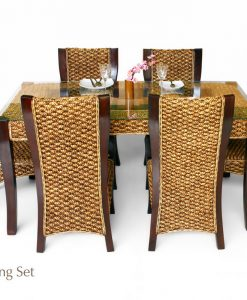 Minang Wicker Dining Set