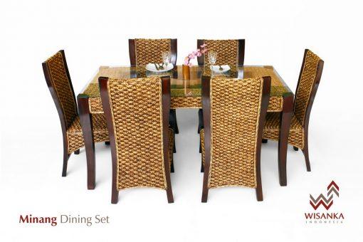 Minang Wicker Dining Set