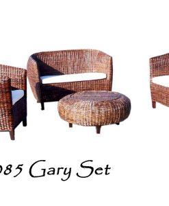 Gary Wicker Living Set