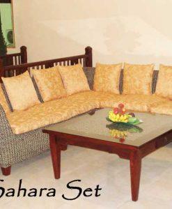 Sahara Rattan Living Set