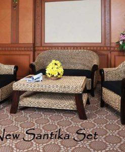 New Santika Rattan Living Set