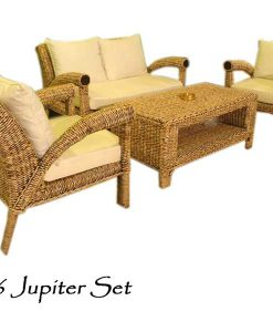 Jupiter Wicker Living Set