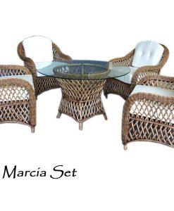 Marcia Rattan Living Set