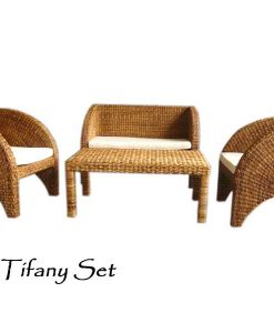 Tifany Wicker Living Set