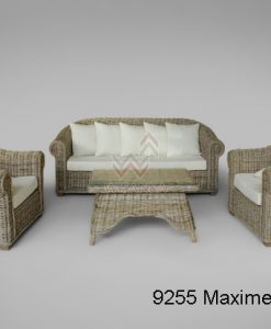 Maxime Rattan Living Set