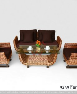 Fargo Rattan Living Set