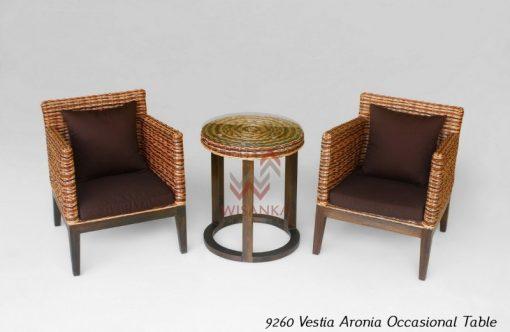 Vestia Rattan Terrace Set