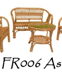 Asri Rattan Living Set