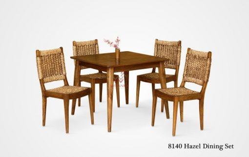 Hazel Wicker Dining Set