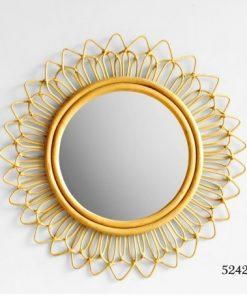 Noxi Rattan Mirror