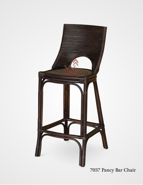 Pancy Rattan Bar Stool