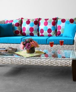 Nios Rattan Living Set