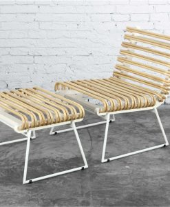 Lano Rattan Set Lazy Chair Natural