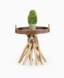 Barito Rattan Side Table