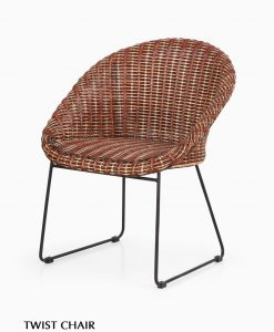 Twist Rattan Chair