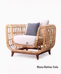 Nuno Rattan Single Sofa