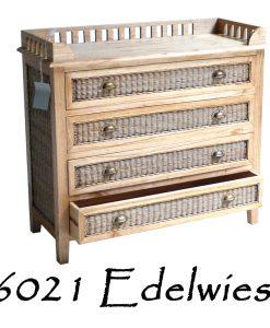 6021 Edelwies Rattan Drawer