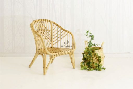 Hong Rattan Arm Chair