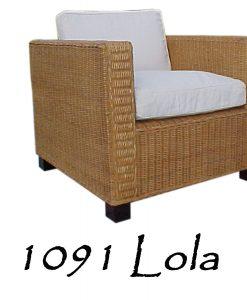 Lola Wicker Chair