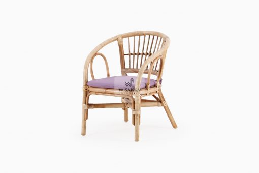 Jimmy Kids Rattan Chair Natural