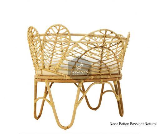 Nada Rattan Baby Crib